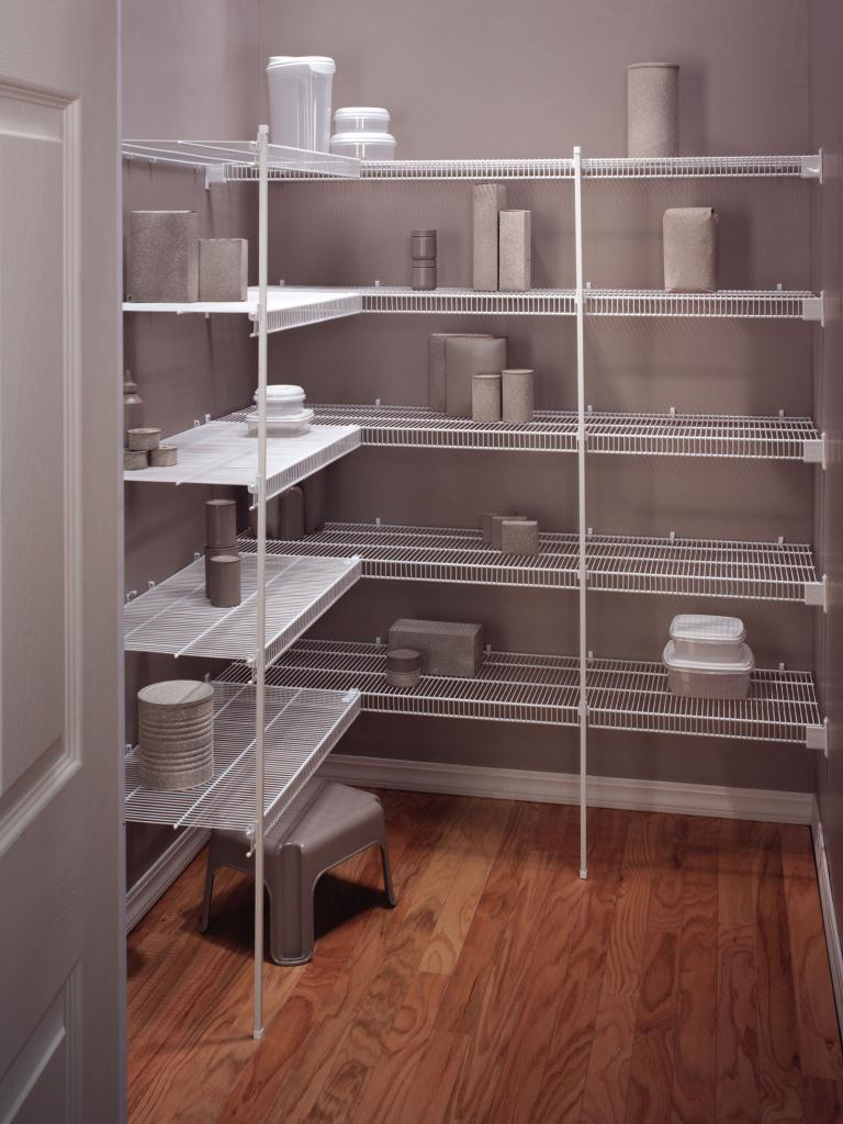Kitchen Wire Shelving